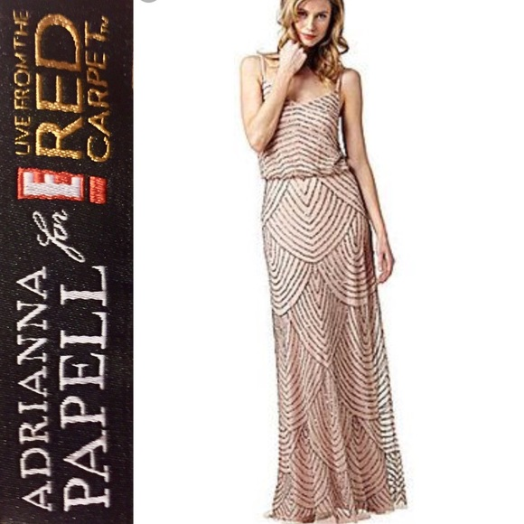 Adrianna Pappell Gown E Live From The